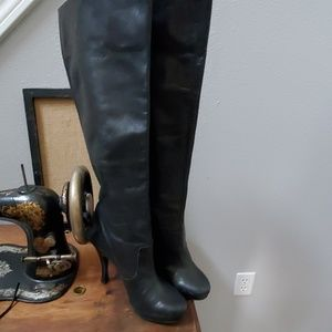BCBG Generation tall leather boots 8.5